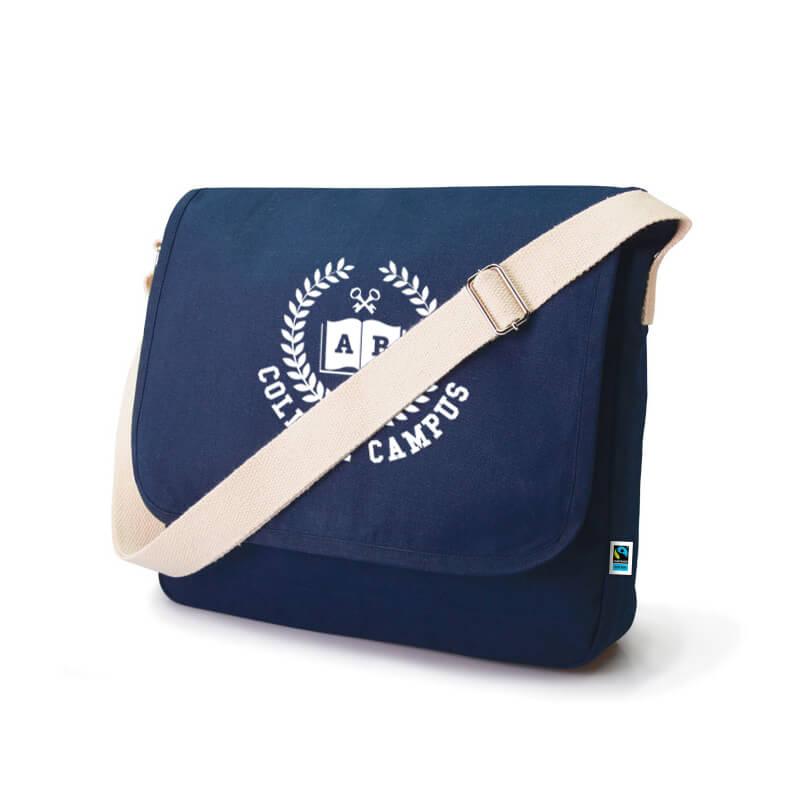Der Nützliche: Die Messenger-Bag Linus ist viel mehr, als einfach nur eine Werbetasche.