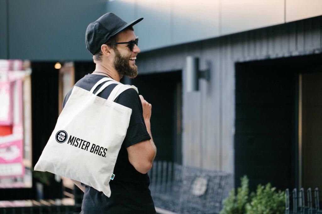 Baumwolltaschen von Mister Bags - gut für Ihr Image und Ihre Kunden!